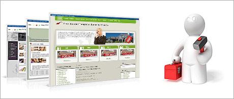 A quick website installer